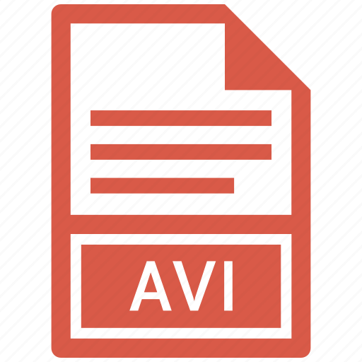 avi, document, file icon