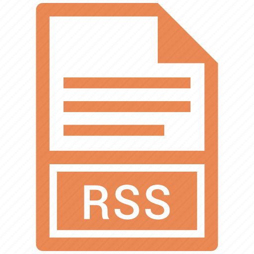 document, file, paper, rss icon