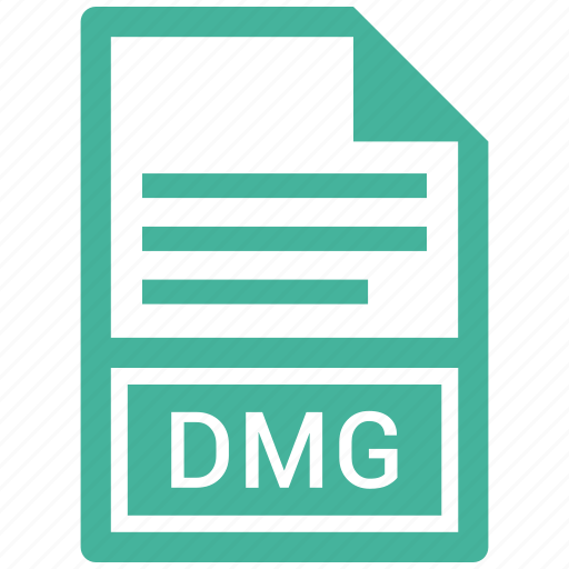 File format, extension, file, dmg icon