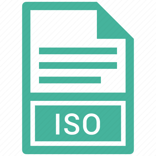 document, file, iso icon