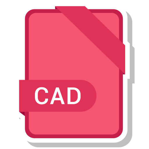 cad, document, extension, format, paper icon
