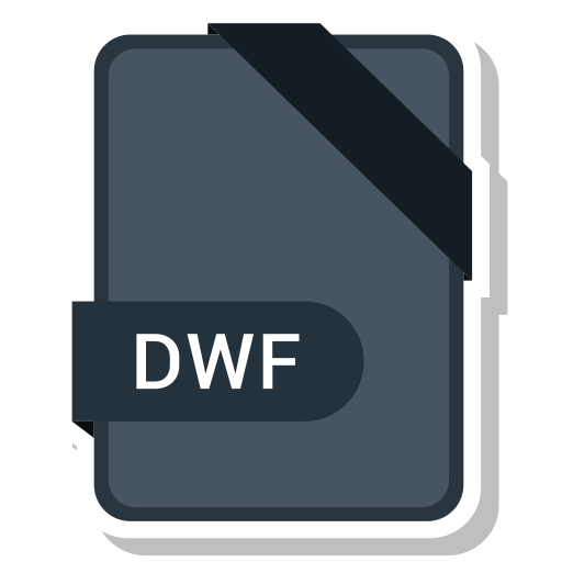 document, dwf, extension, format, paper icon