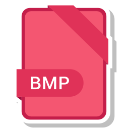 bmp, extension, file, format, paper icon