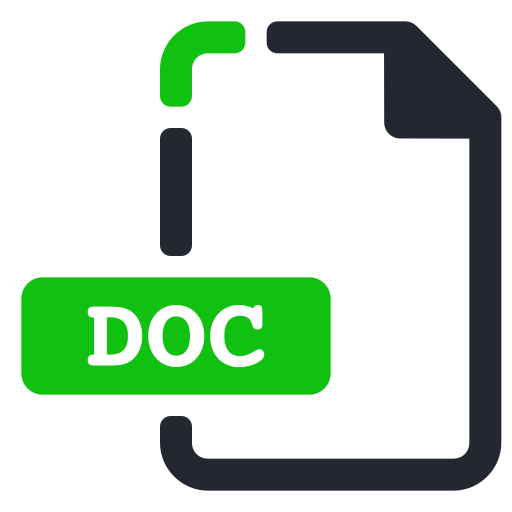 Doc, extension, file, processor, text, word icon - Free download