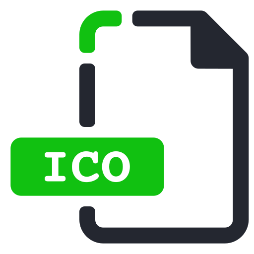 extension, file, ico, system icon