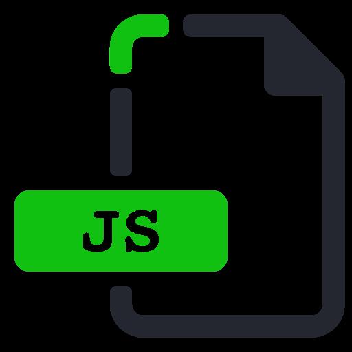 extension, file, internet, js icon
