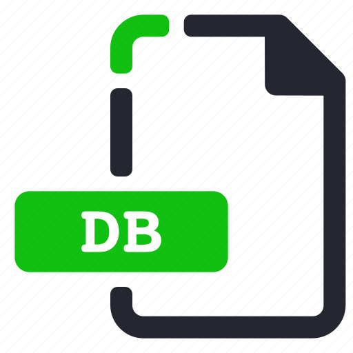 data, database, db, extension, file icon