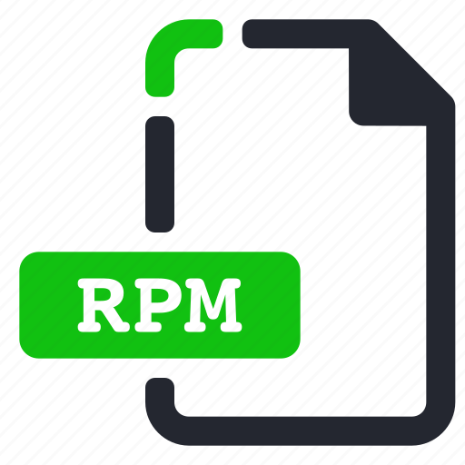 compressed, extension, file, rpm icon