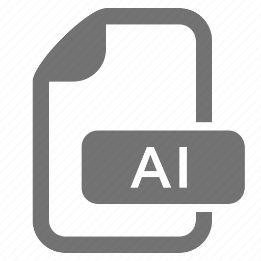 ai, document, extension, file, format, graphics, illustrator icon