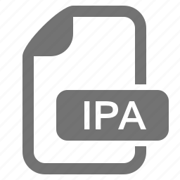 apple, application, document, extension, file, format, ipa icon