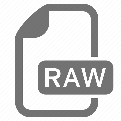 document, extension, file, format, image, raster, raw icon