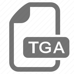 document, extension, file, format, image, raster, tga icon