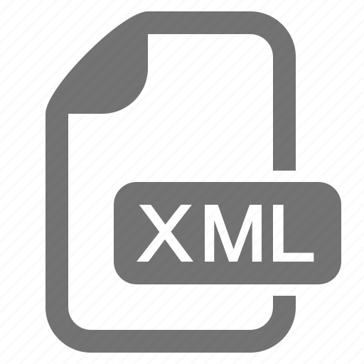 data, document, extension, file, format, xml icon