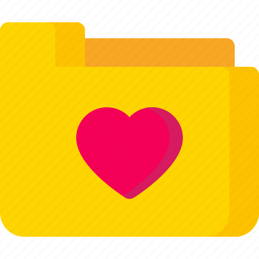 document, extension, file, folder, like, love, paper icon