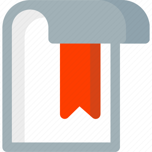bookmark, document, extension, file, folder, paper, tag icon