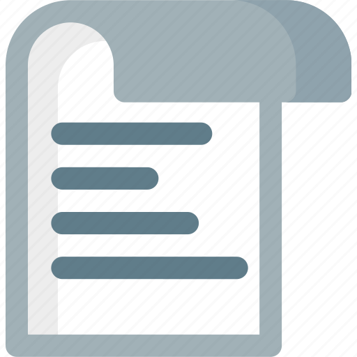 document, extension, file, folder, paper, text icon