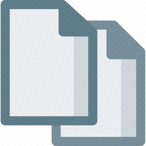 copy, document, extension, file, folder, paper icon