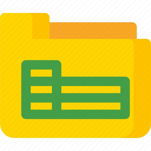 document, excel, extension, file, folder, paper, sheet icon