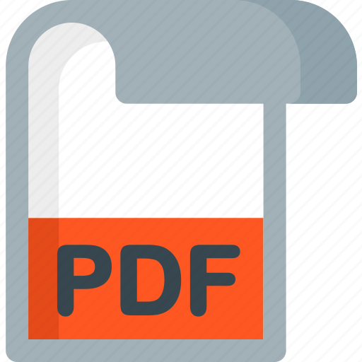 document, extension, file, folder, paper, pdf icon