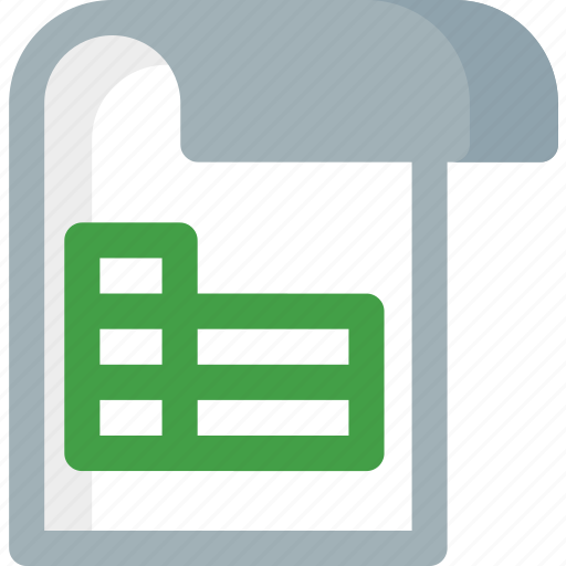 document, extension, file, folder, paper, sheet icon