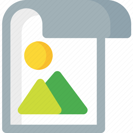 document, extension, file, folder, image, paper icon