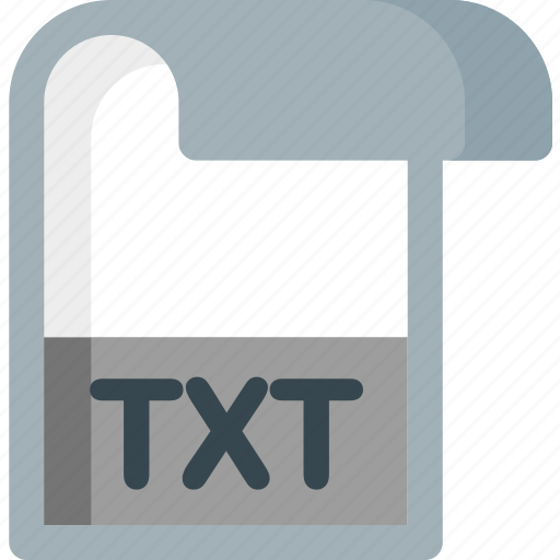 document, extension, file, folder, paper, txt icon