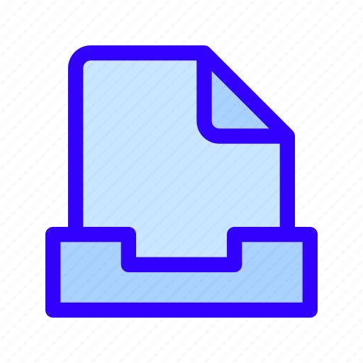 archive, document, file icon