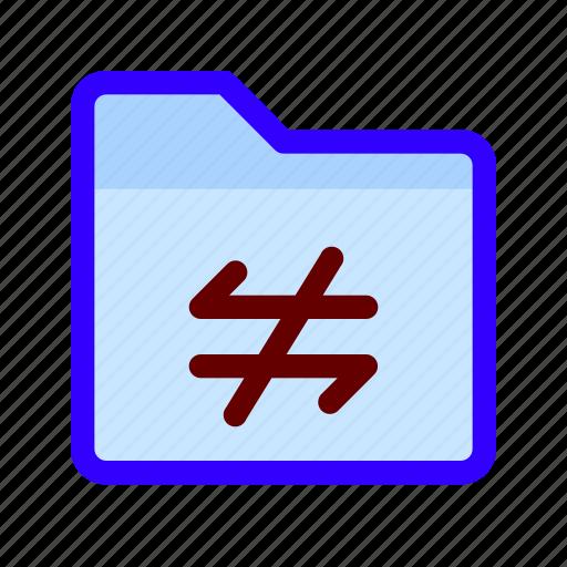 connection, error, files, folder icon