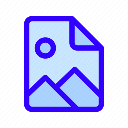image, photo, raster icon
