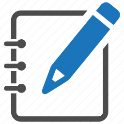 compose, create, draft, edit, note, pencil, write icon