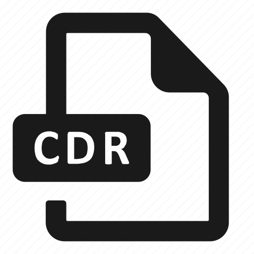Cdr, file, format icon - Download on Iconfinder