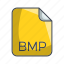 bmp, extension, file, image file format icon