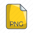 extension, file, image file format icon