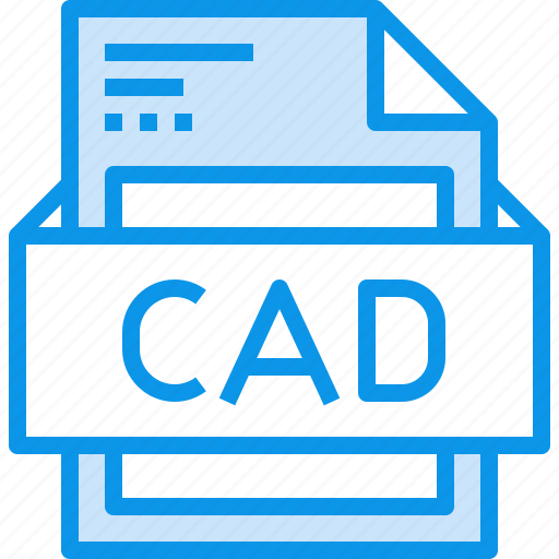cad, data, document, file, format, type icon