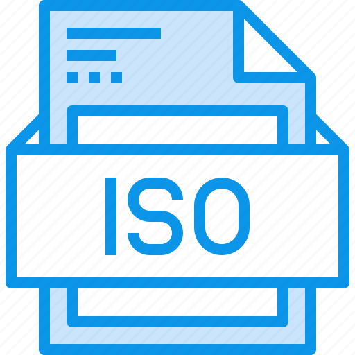 data, document, file, format, iso, type icon