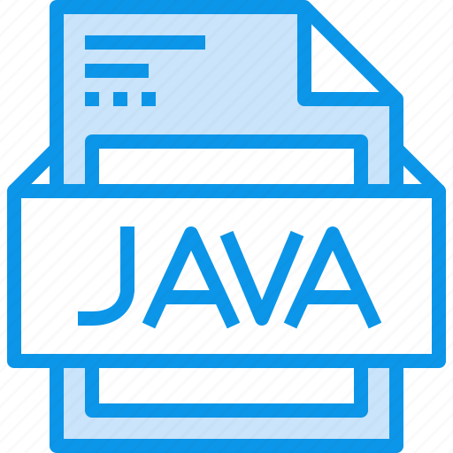 data, document, file, format, java, type icon