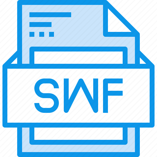 Data, document, file, format, swf, type icon - Download on Iconfinder