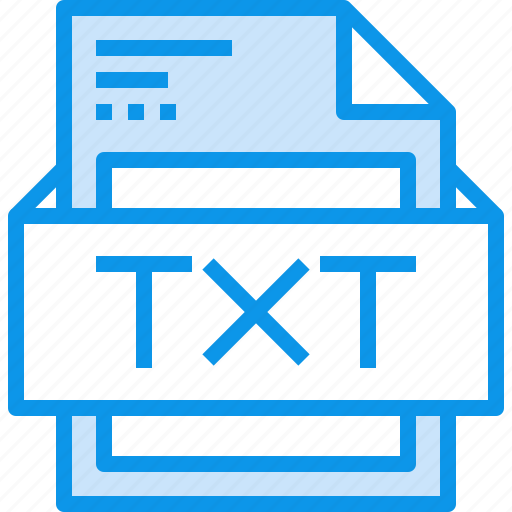 data, document, file, format, text, type icon