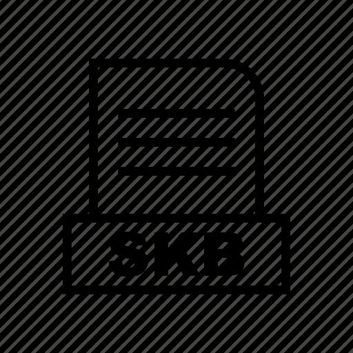 Document, file, skb icon - Download on Iconfinder