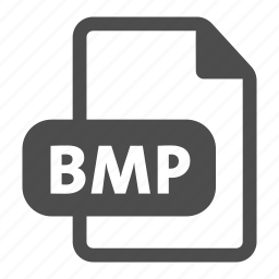 bitmap, bmp, document, extension, file, format icon