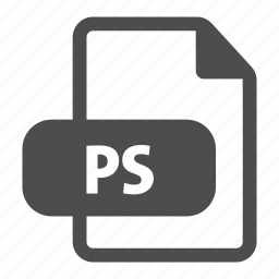 document, extension, file, file format, format, photoshop, ps icon