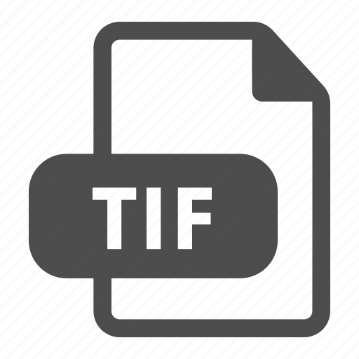 document, extension, file, format, image, tif icon