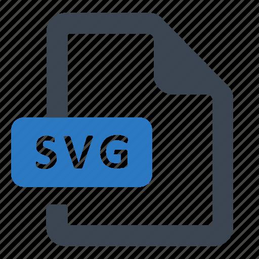File, format, svg file icon - Download on Iconfinder