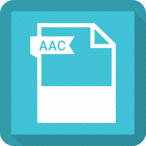 Aac, document, extension, file, format icon - Download on Iconfinder