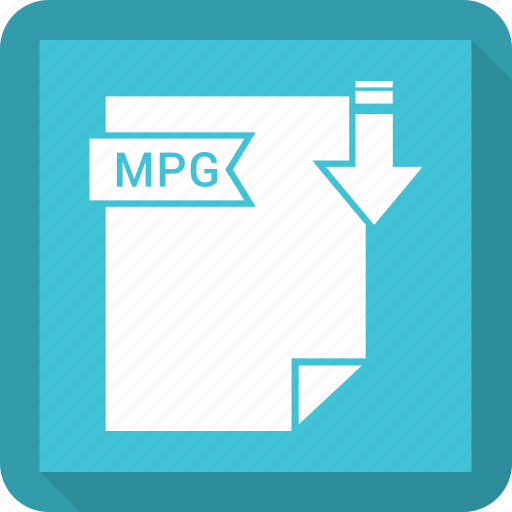 extensiom, file, file format, mpg icon