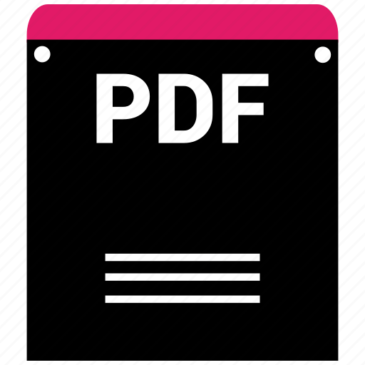 extensiom, file, file format, pdf icon