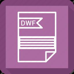 dwf, file, format icon