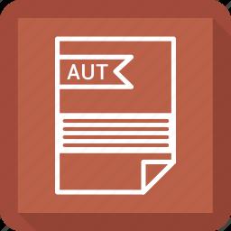 aut, file, format icon