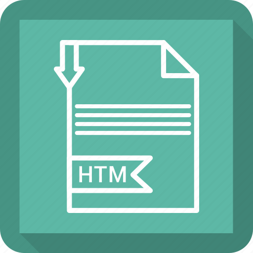 document, extensiom, file, file format, htm, paper icon