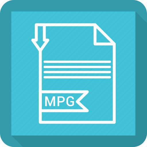 document, extensiom, file, file format, mpg, paper icon